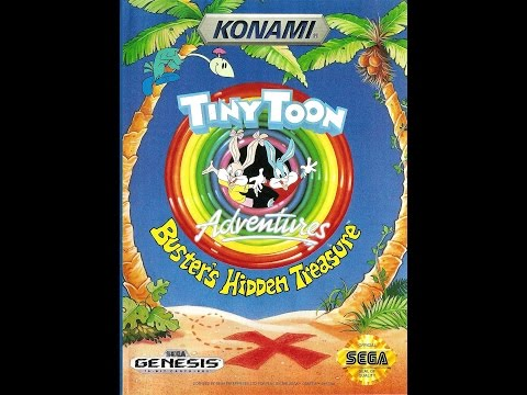 Tiny Toon Adventures: Buster's Hidden Treasure Прохождение (Sega Rus)