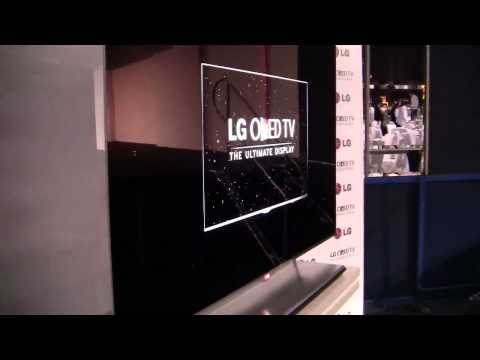 LG 55-inch OLED hands on video