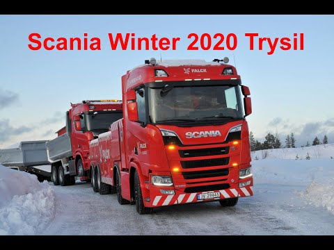 Video bij: Scania's in de Noorse sneeuw