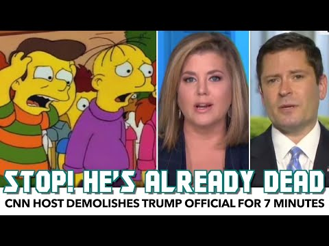 CNN Host Demolishes Trump Official For 7 Straight Minutes