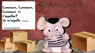"""Ratounet Canta """"je M'appelle"""" En Francés : Aprender Francés Gratis"""