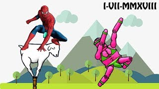 Spiderman et les Dab (Mount Your Friends Funny Moments) - I-VII-MMXVIII
