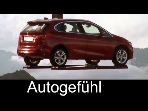 BMW 2er Active Tourer Design & Komfort test review deutsch - Autogefühl