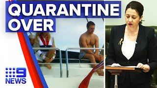 Coronavirus: Melbourne millionaire allowed to stay in Queensland | 9News Australia