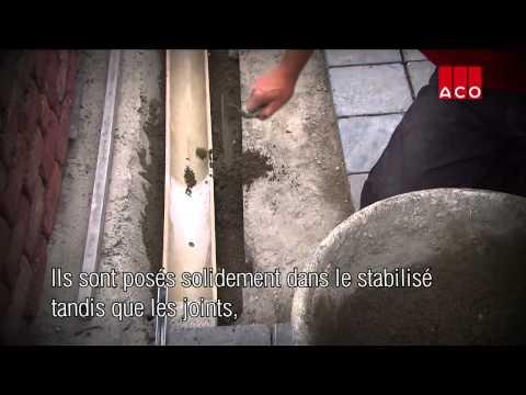 comment poser un aquadrain