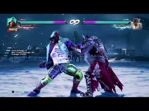 Tekken 7 Craig Marduk Day One combo Exhibition - смотреть