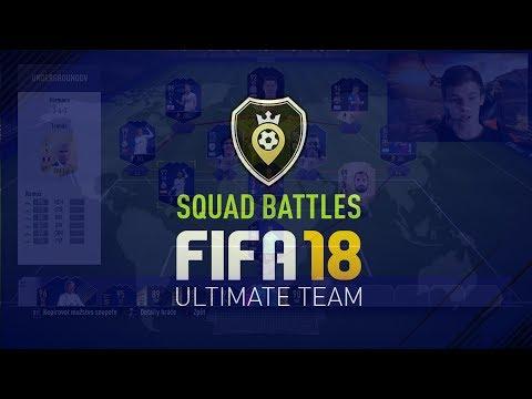 FIFA 18   SQUAD BATTLES-Opravdu silný tým!+TIP NA VYŠŠÍ OBTÍŽNOST!   CZ/SK