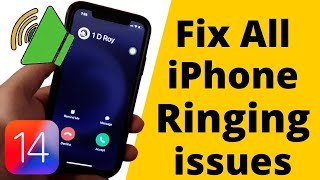 iPhone 12, Pro, Max, Mini Not Ringing on incoming call or Quite [101% Solved] with iOS 14