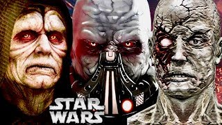 Why Were So Many Sith Lords Physically Deformed? (Legends)