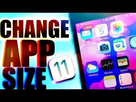 CHANGE APP SIZE ON IOS / CUSTOMIZE ANY IOS DEVICE / COOL IOS CUSTOMIZATION TRICKS