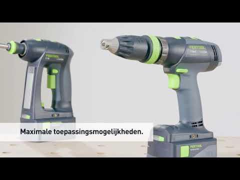 Festool T 18+3 LI 5,2 SET accu schroefboormachine