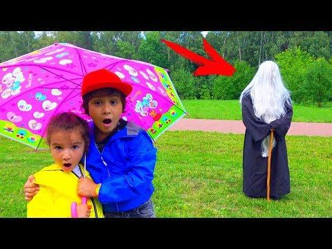 ВОЛШЕБСТВО Против GRANNY в Реальной Жизни! Для Детей Kids children видео