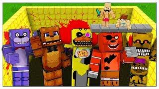 NON CADERE NELLA PISCINA DEGLI ANIMATRONICS! - Minecraft ITA