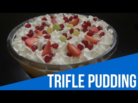 Trifle Pudding Recipe in Hindi –  Easy Desert Recipe – How to make Trifle Pudding
