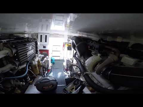 Hatteras 54 Convertible video