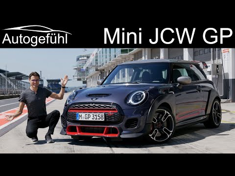 New Mini John Cooper Works GP FULL REVIEW with Nürburgring racetrack - most powerful Mini JCW ever