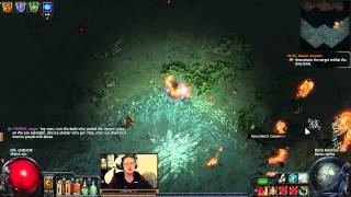 Path of Exile: Chris Wilson, Bless This Puncture [Livestream Highlight]