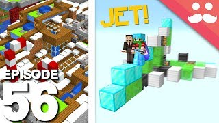 Hermitcraft 6: Episode 56 - DIAMOND JET Donation!