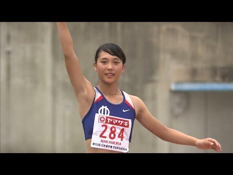 女子 三段跳 決勝4位 第103回日本陸上競技選手権大会