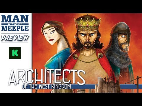 Architects of the West Kingdom Preview by Man Vs Meeple