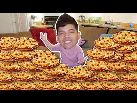 30 MEXICAN PIZZAS IN 10 MIN CHALLENGE!