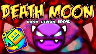 DEMON IN GEOMETRY DASH WORLD?! - DEATH MOON 100% - by Caustic