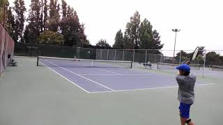 20190713 Backhand practice 6 of 8