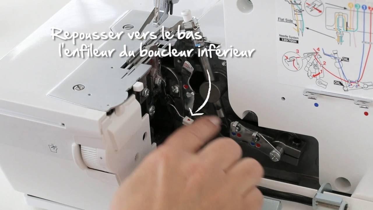 BERNINA L 450 : introduction vidéo 6/8