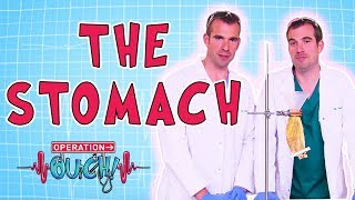Operation Ouch - The Stomach | Biology for Kids