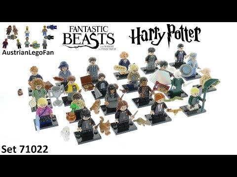 Vidéo LEGO Minifigures 71022 : Harry Potter et Les Animaux fantastiques