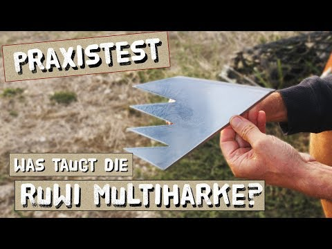 Praxistest: Ruwi Multiharke - alle 8 Funktionen getestet