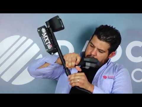 Facil manejo detector de metales Mxt All Pro
