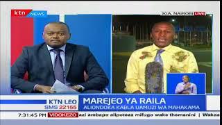 Kinara wa NASA Raila Odinga arejea nchini kutoka nchini Tanzania na Zanzibar