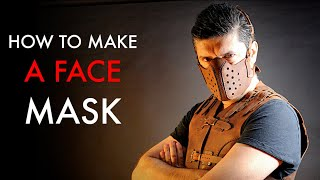 DIY Face Mask Pattern- Tutorial And Pattern Download