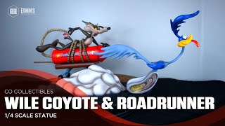 CO Collectibles Wile coyote & Roadrunner 1/4 scale statue Review
