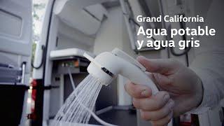 Grand California - Agua potable y agua gris Trailer