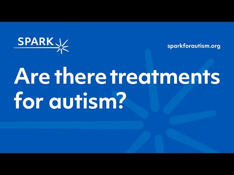 Are there treatments for autism image