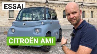 Essai Citroën AMI : la voiture électrique pas chère et sans permis