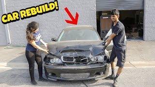 Rebuilding A Wrecked BMW E46 - Part 1