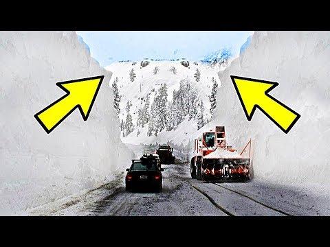 10 Самых Больших Снегопадов в Истории