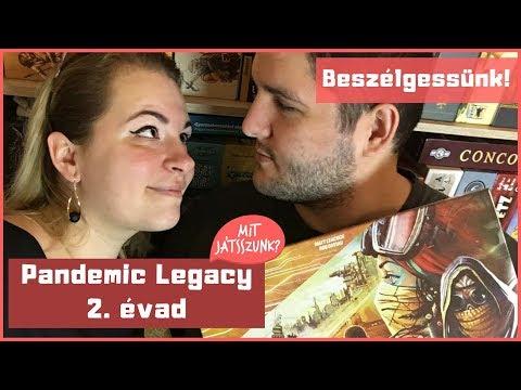 Pandemic Legacy 2. évad Kibeszélő - Mit Játsszunk?