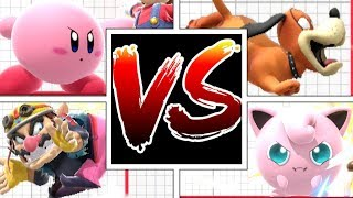 Which Character's Forward Throw Gets The Most Distance In Super Smash Bros Ultimate?