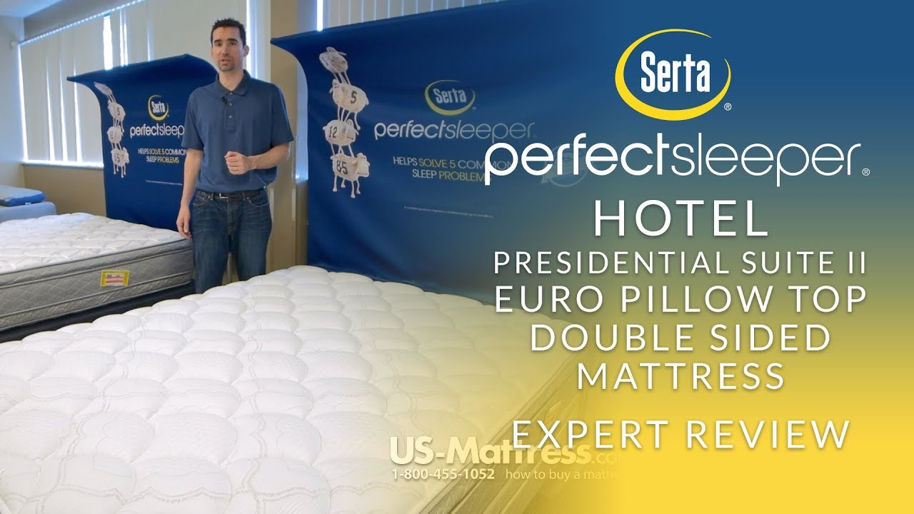 King Serta Perfect Sleeper Hotel Presidential Suite Ii
