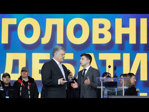Он мне ПИСЮН показывал ! Владимир Зеленский-Петро Порошенко Дебаты