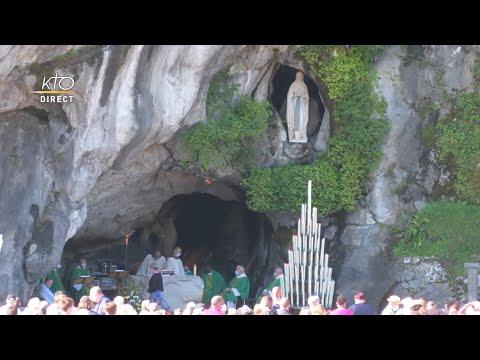 Messe de 10h à Lourdes du 17 juillet 2021