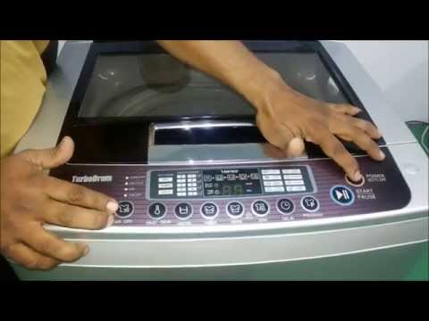 How to Use Fully Automatic (Top Loading) Washing Machine - Demo