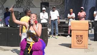 VUT Celebrates Sunflower Day Ft Sho Madjozi