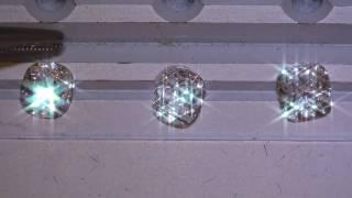 1.7xct Vintage Vs Modern Cushion Cut Diamond Comparison