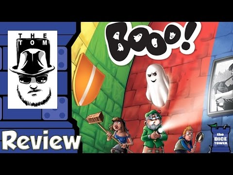 Booo! Review - with Tom Vasel