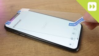 Olixar iPhone X Glass Screen Protector Installation Guide & Review (Case Compatible)